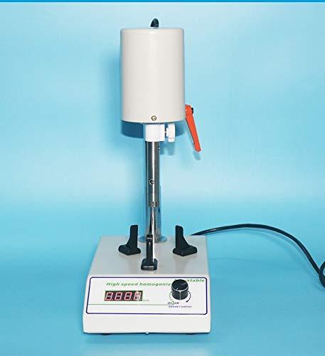 High Speed Dispersion Homogenizer Lab Mixer with 1212G and 1218G Working Head
