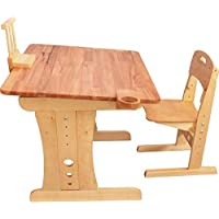 Childrens Wooden Adjustable Desk Beginner