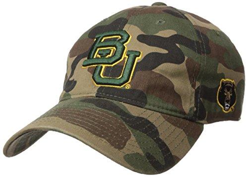 W Republic NCAA Baylor Bears Relaxed Camo Cap, One Size, Woodland Camo ()