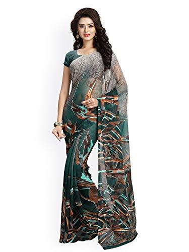Vaamsi chiffon with Blouse Piece Saree (Raga3102_ Multicoloured_ One Size)