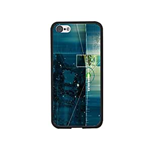 Abstract Art Architecture Building Pattern Design Iphone 5 5s Case Cover Cool Personalized Glitter Artistic Back Phone Case Skin for Guys (0008)