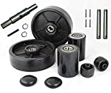 CRWON PTH50 Pallet Jack Wheel Replacement Kit Set