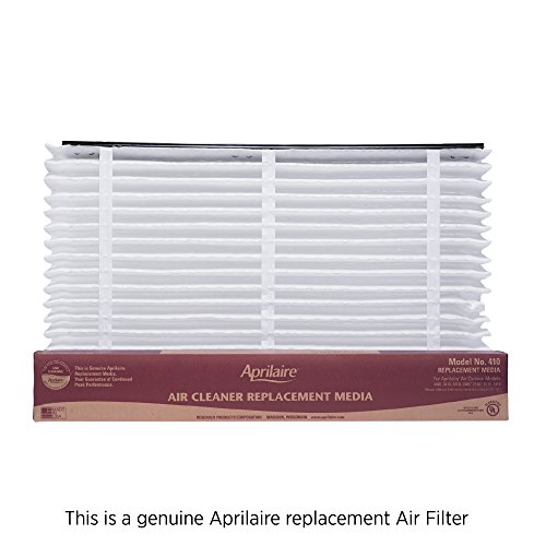 Aprilaire 410 Filter Single Pack for Air Purifier Models 1410, 1610, 2410, 3410, 4400