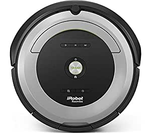 iRobot Roomba Vacuum Cleaner 680 Eu Silver and black