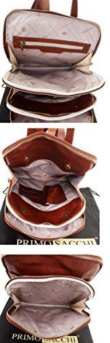 Vintage in pratica Gentlemens portadocumenti pelle stile Mens nbsp;Fornita Lusso torna nella italiana Tracolla custodia protettiva qualità marca Borsa classico scuro Pack Marrone f8qaBdx