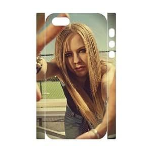 3D Let Go. Avril Lavigne Case For Sam Sung Galaxy S4 I9500 Cover Cases, Men Case For Sam Sung Galaxy S4 I9500 Cover for Girls Stevebrown5v {White}