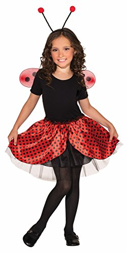 Ladybug Tutu Set (Forum Novelties Sassy Tutu Child Costume Set, Lady Bug)