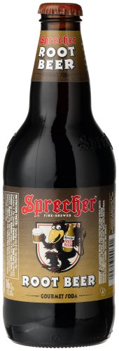 Sprecher ROOT BEER PINT AMBER BOTTLES -