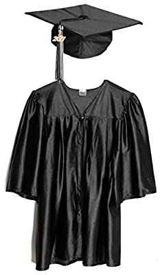 Preschool and Kindergarten Graduation Cap and Gown, Tassel and 2018 Charm