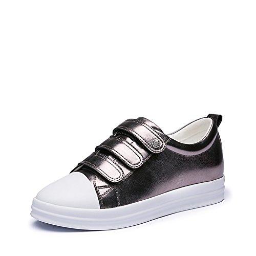 zapatos casuales/Escuela de zapatos de moda estilo flat-bottom/Zapatos de velcro C