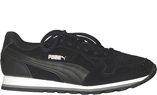 Puma Mens ST Runner SD Shoes Size 9 Black/Black