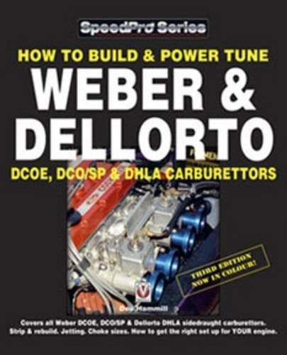 How To Build /& Power Tune Weber /& Dellorto Carburettor Manual DCOE DHLA DCO//SP