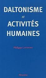 Daltonisme et activités humaines