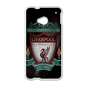 DIY phone case Liverpool Football Club skin cover For HTC One M7 SQ842315