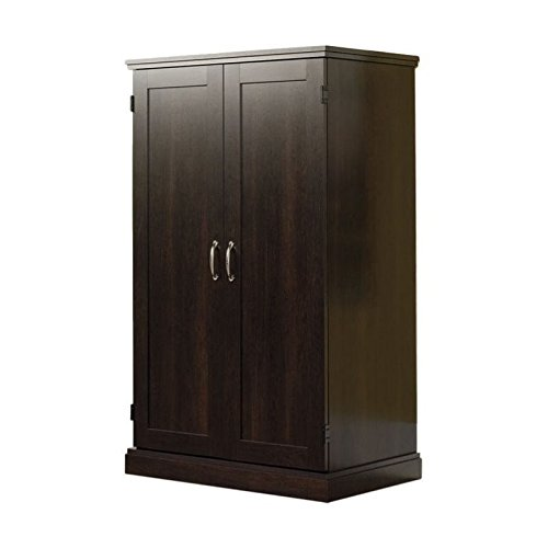 Sauder Computer Armoire, Cinnamon Cherry finish (Armoire Computer Small)