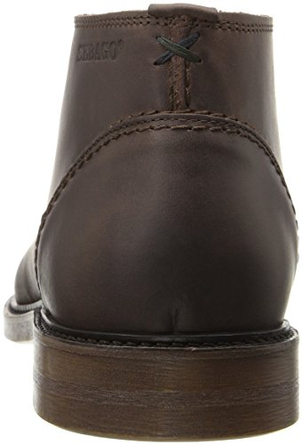 Sebago Mens Bryant Chukka Ankle Bootie Dark Brown Waxy Leather