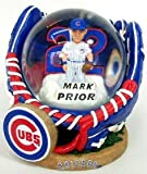 Chicago Cubs Official MLB Mark Prior Water Globe by Forever Collectibles