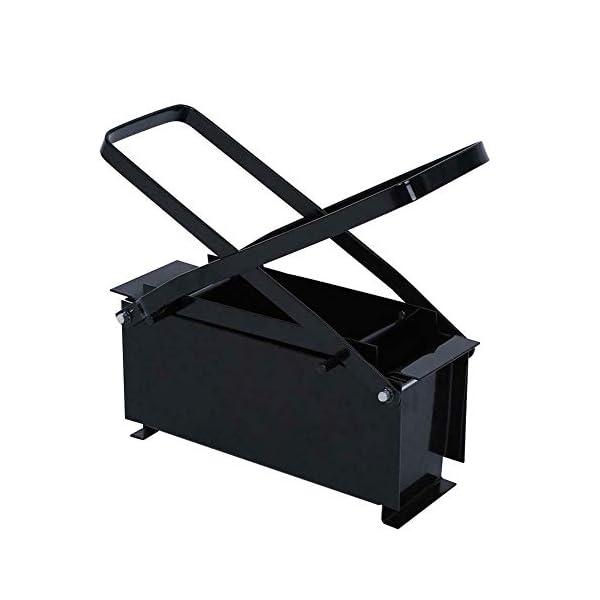 Hanper-Bricchettatrice-in-FerroCompattatore-Carta-NeroEconomicoBricchettatrice256-x-126-x-82-cm