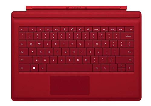 Microsoft Type Cover Keyboard for Surface 3 - Bulk Packaging - Red