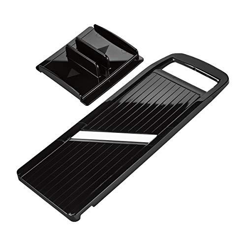 Kyocera Advanced Ceramic Wide Adjustable Slicer with Handguard, - Slicer Mandoline Ceramic