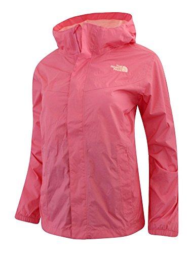 The North Face Big girls MADISON RAIN Shell jacket HOODED (L 14/16, Cha Cha Pink)
