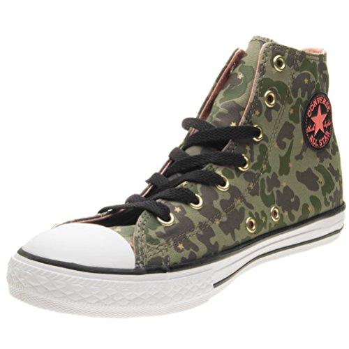 Converse Zapatillas de Lona Para Niña Verde Militare
