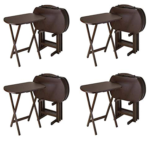 Winsome Wood TV Tray Set (Pack of 4)