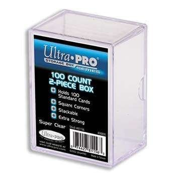 - Ultra Pro 100-count 2-Piece Case