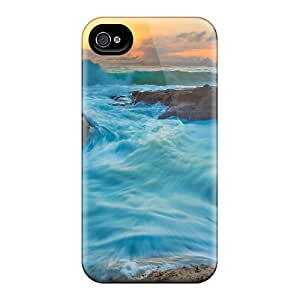 Shockproof/dirt-proof Tide And Waves Covers Cases For Iphone(6plus)