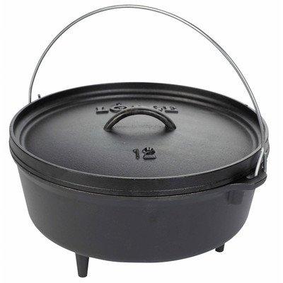 6-qt. Cast Iron Round Dutch Oven