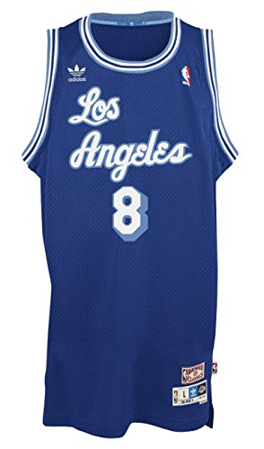 Kobe Bryant Los Angeles Lakers Blue Throwback Swingman Jersey X-Large
