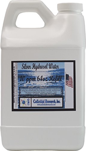 Silver Hydrosol Water 64 ounce Refill
