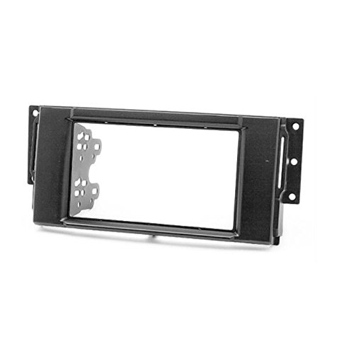 CARAV 11-075 Double Din car dash installation kit Radio Stereo Facia Fascia Panel Frame DVD Player Dash Install Panel for LAND ROVER Freelander Discovery Range Rover with 173x98mm 178x100mm 178x102mm