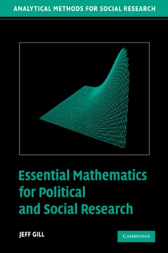 Download Essential Mathematics for Political and Social Research (Analytical Methods for Social Research) Pdf