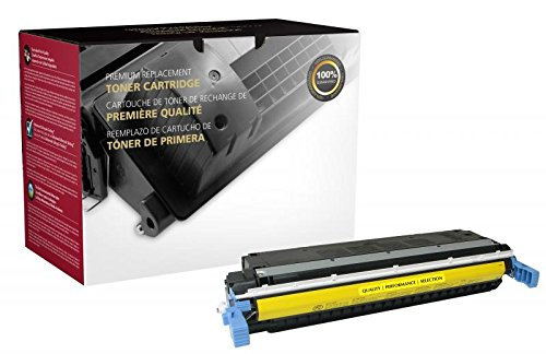 - Fine Line Printing Compatible Toner Cartridge Replacement for HP 645A ( Yellow )