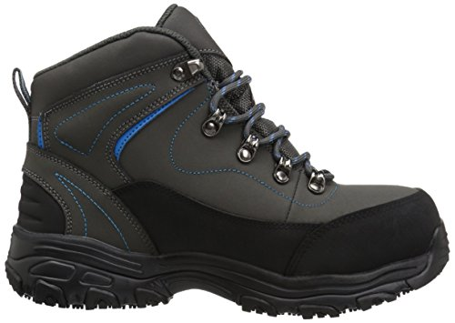 Work Amasa for Gray Boot D Skechers Lite Work Women's Blue aOgw4OH5n