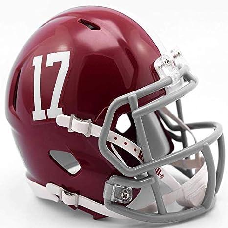 8a3aa88e Amazon.com : Riddell NCAA Alabama Crimson Tide Helmet Mini Speed ...