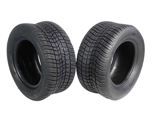 - MASSFX SL2055010(x2) 4 PLY Golf Cart Turf Tires 205/50-10, Set of two (2) Tires