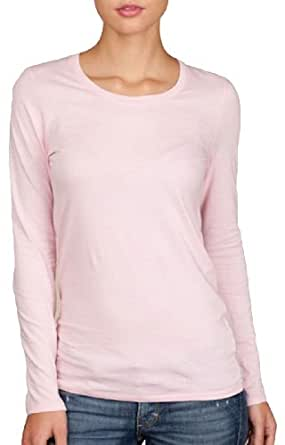 Alternative AA4070 Ladies' 3.5 oz. Long-Sleeve Crew - Pink Ribbon - XL