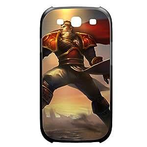Garen-002 League of Legends LoL For Case Iphone 4/4S Cover Plastic Black