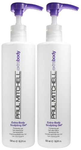 Paul Mitchell Extra Body Sculpting Gel, 16.9 oz, 2 pk
