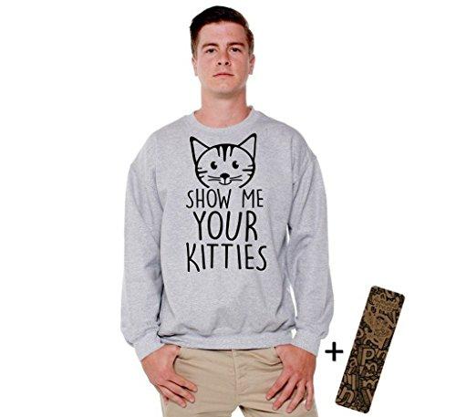 Kitten Crew Neck Sweatshirt - 7