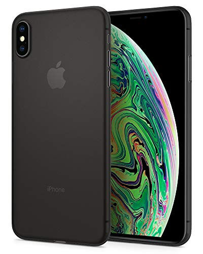 Spigen Air Skin Designed for Apple iPhone Xs MAX Case (2018) - Black