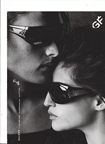 MAGAZINE ADVERTISEMENT For 2010 Gianfranco Ferre Black - Ferre Sunglasses