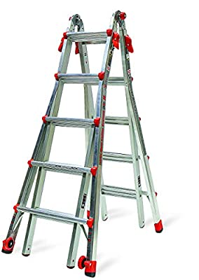 Little Giant 22-Foot Velocity Multi-Use Ladder, 300-Pound Duty Rating, 15422-001 (Certified Refurbished)