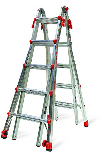 - Little Giant 22-Foot Velocity Multi-Use Ladder, 300-Pound Duty Rating, 15422-001 (Renewed)