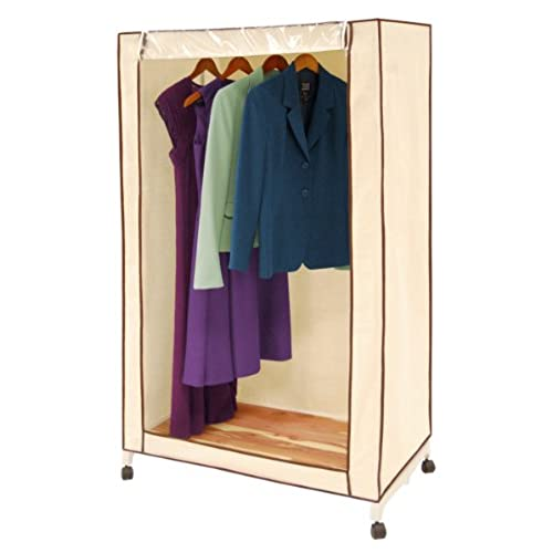 Pro Mart DAZZ Cedar Wardrobe Closet, Natural Canvas, 36 Inch