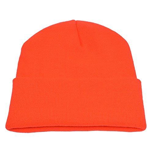 PZLE Trendy Hats for Men Hunting Winter Hat Men Orange Ladies Caps - Cap Hunting Orange