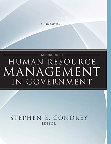 Handbook of Human Resource Management in Government