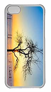 iPhone 5C Case, Personalized Custom Winter for iPhone 5C PC Clear Case